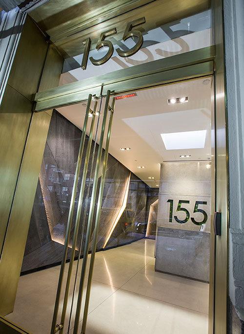 155 West 23 lobby entrance